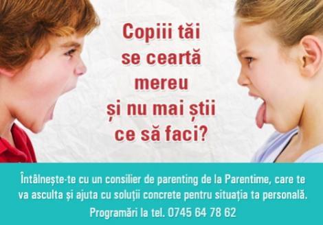 Centru de cursuri pentru parinti / parenting: Consultatii pentru parinti